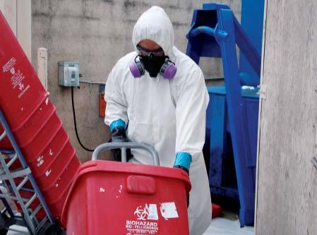 Захоронение промышленных отходов