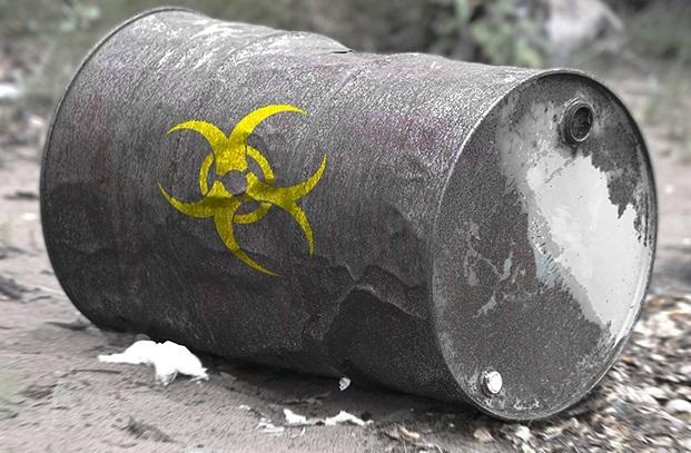 Токсичные промышленные отходы